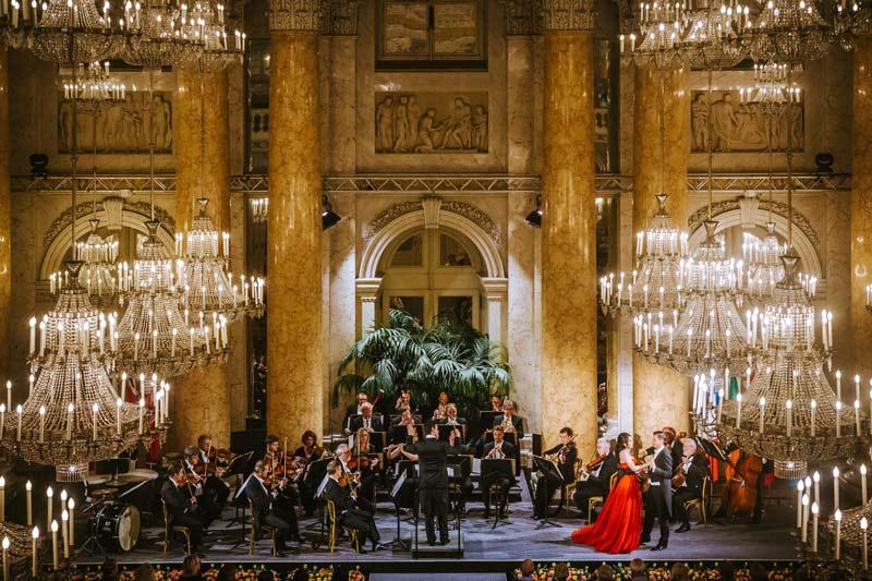 Concierto Mozart y Strauss en el Hofburg de Viena
