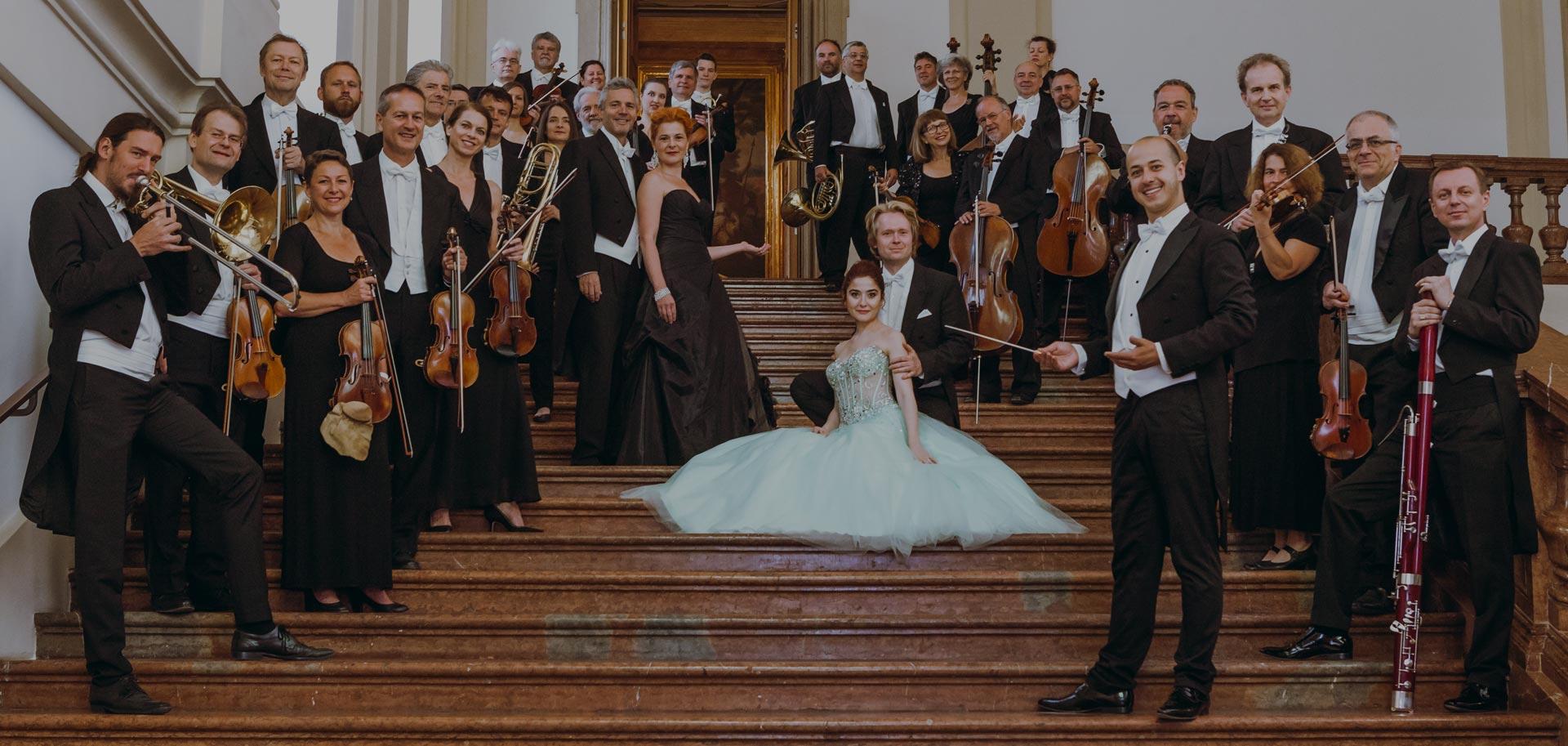 Wiener Hofburg-Orchester beim Neujahrskonzert im Palais Liechtenstein
