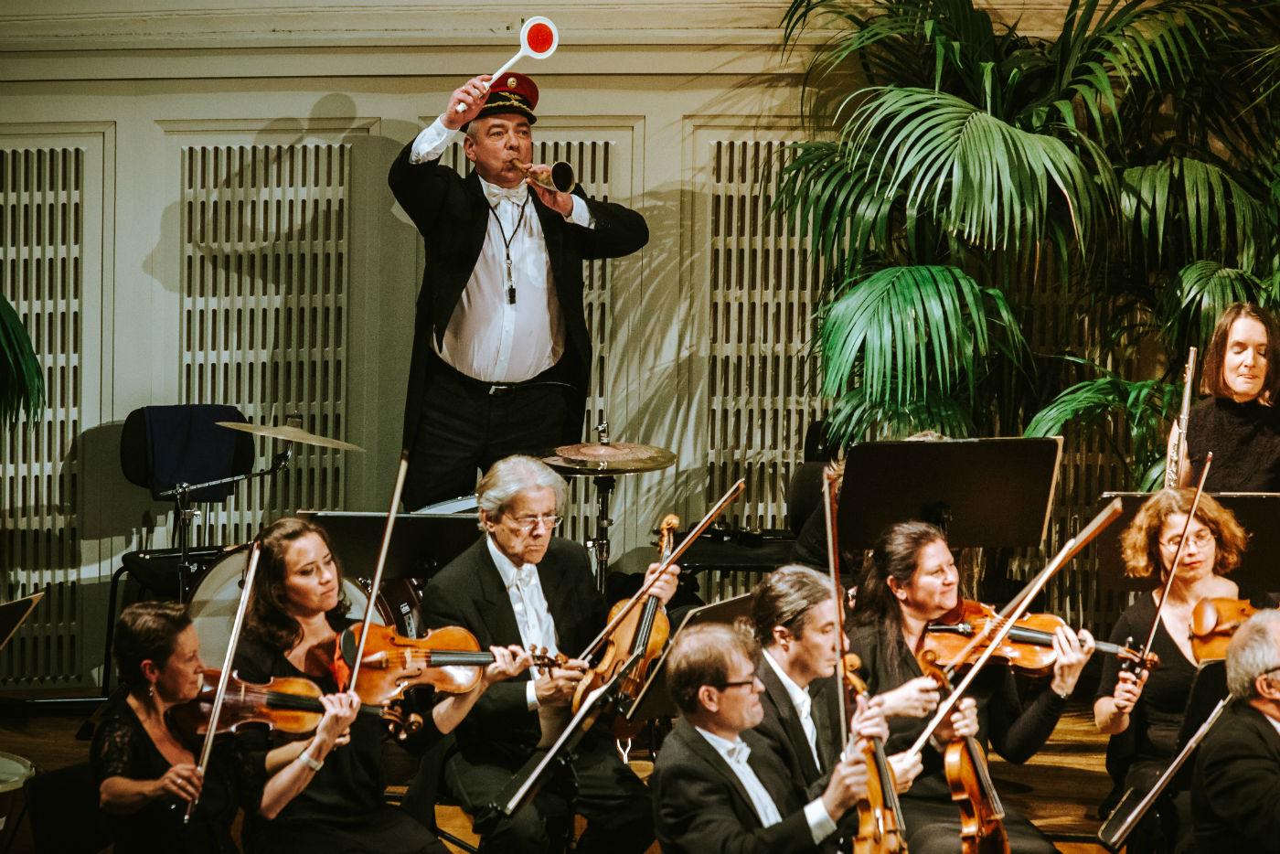 Wiener Hofburg-Orchester beim Konzert im Mozartsaal des Konzerthaus Wien