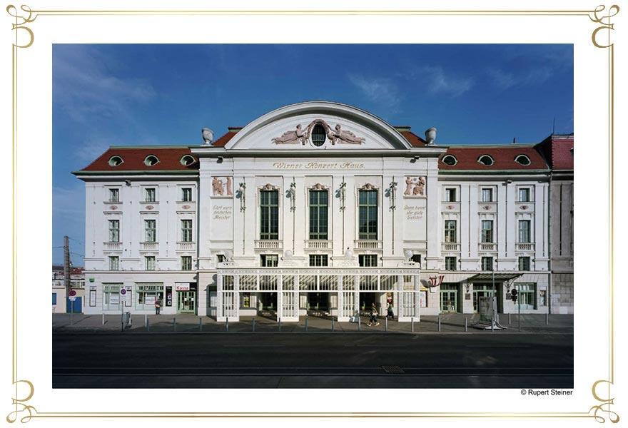 Wiener Hofburg Orchester klassische Konzerte Wien Konzerthaus aussen