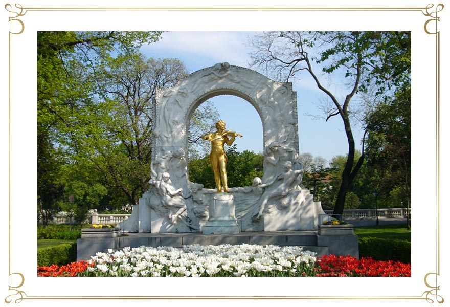 Strauss-Denkmal Am Stadtpark in Wien