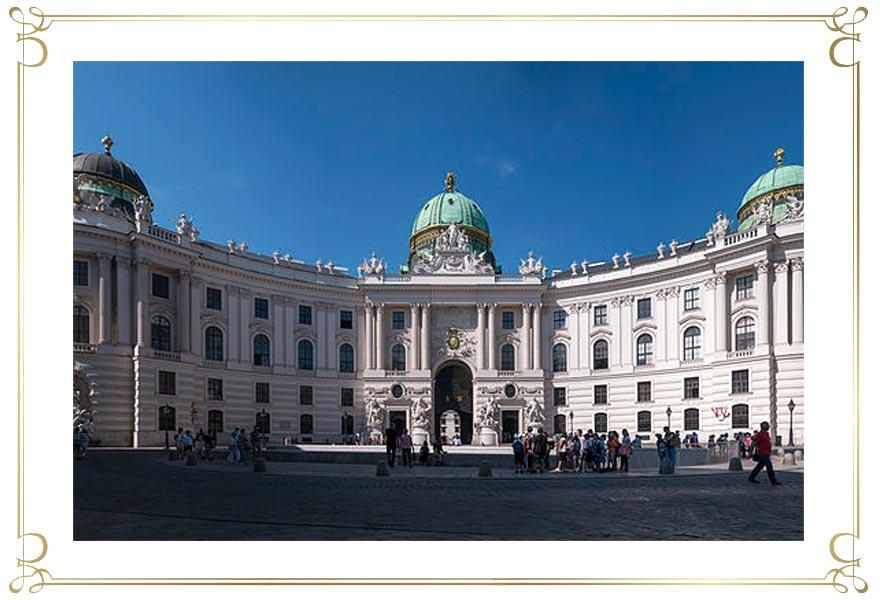 Wiener Hofburg - Eingang Michaeler Platz