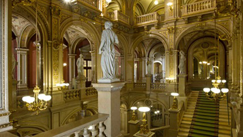 Foyer of the Vienna State Opera